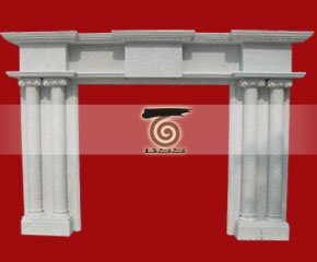 Marble Fireplace Mantel E-FP039