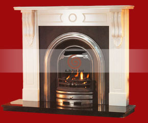 Marble Fireplace Mantel E-FP040
