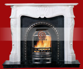 Marble Fireplace Mantel E-FP041