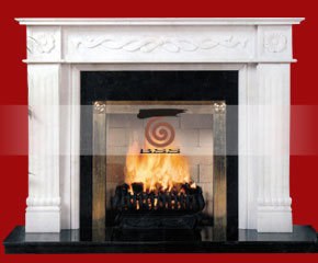 Marble Fireplace Mantel E-FP042