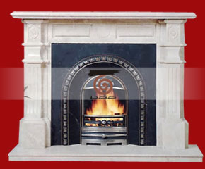 Marble Fireplace Mantel E-FP043