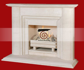 Marble Fireplace Mantel E-FP045