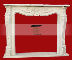 Marble Fireplace Mantel E-FP046