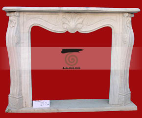 Marble Fireplace Mantel E-FP047