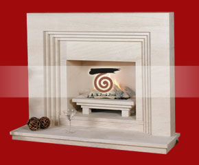 Marble Fireplace Mantel E-FP048