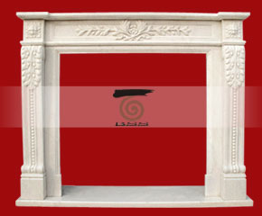 Marble Fireplace Mantel E-FP050