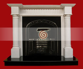 Marble Fireplace Mantel E-FP051