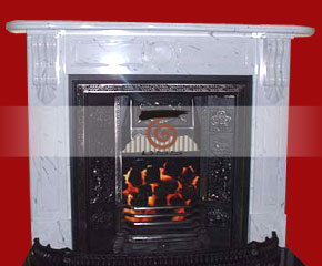 Marble Fireplace Mantel E-FP052