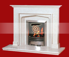 Marble Fireplace Mantel E-FP053
