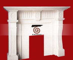 Marble Fireplace Mantel E-FP054