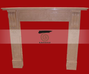 Marble Fireplace Mantel E-FP055