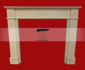 marble fireplace mantel E-FP058