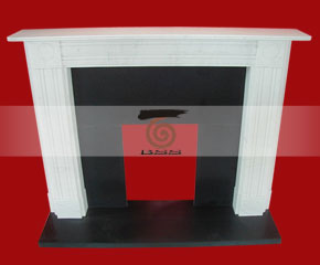 marble fireplace mantel E-FP060