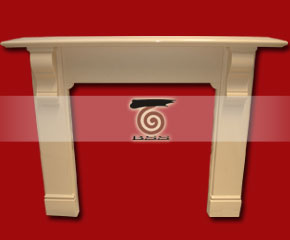 marble fireplace mantel E-FP066