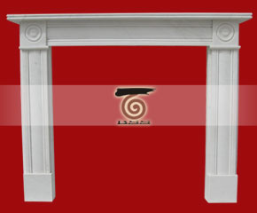 marble fireplace mantel E-FP068