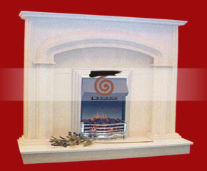 marble fireplace mantel E-FP069