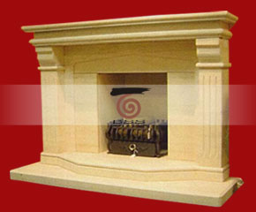 marble fireplace mantel E-FP070