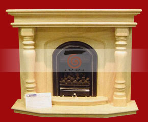 marble fireplace mantel E-FP071