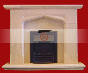 marble fireplace mantel E-FP072
