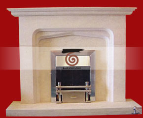 marble fireplace mantel E-FP073