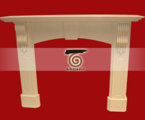 marble fireplace mantel E-FP082