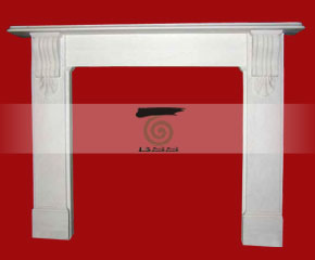 marble fireplace mantel E-FP083