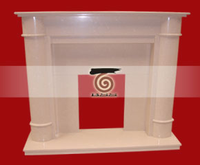 marble fireplace mantel E-FP084