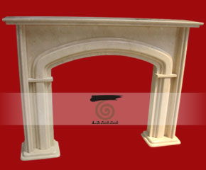 stone fireplace mantel E-FP087