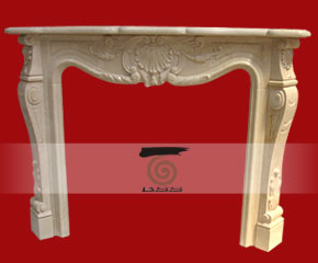 stone fireplace mantel E-FP088