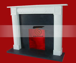 stone fireplace mantel E-FP090