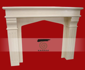 stone fireplace mantel E-FP092
