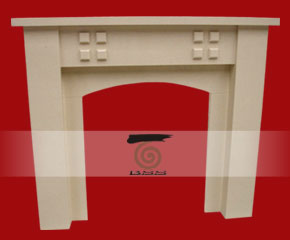 stone fireplace mantel E-FP093