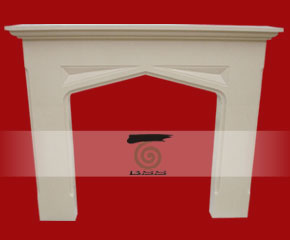 stone fireplace mantel E-FP096