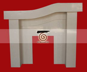marble fireplace mantel E-FP001