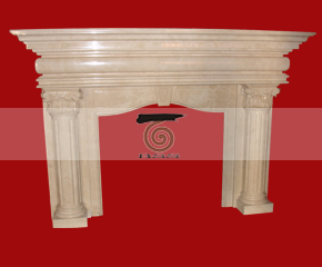 marble fireplace mantel E-FP008