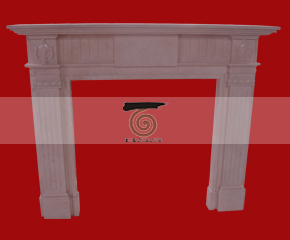 marble fireplace mantel E-FP012