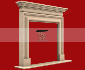 marble fireplace mantel E-FP013