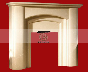 marble fireplace mantel E-FP014
