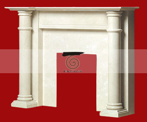 marble fireplace mantel E-FP016