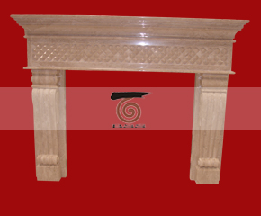marble fireplace mantel E-FP020
