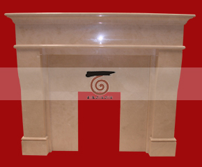 marble fireplace mantel E-FP021