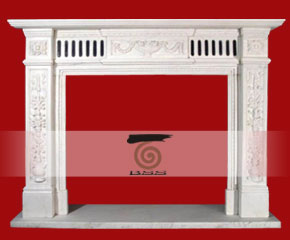 stone fireplace mantel surround O-FP005