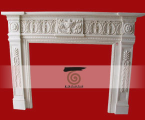 stone fireplace mantel surround O-FP011