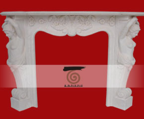 stone fireplace mantel surround O-FP013