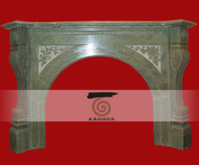stone fireplace mantel surround O-FP015