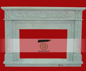 stone fireplace mantel surround O-FP017