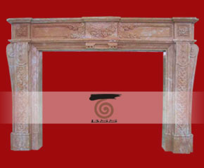 stone fireplace mantel surround O-FP018