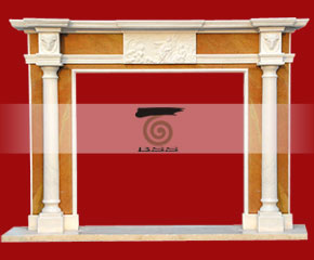 marble fireplace O-FP020 (WFP011)