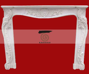 marble fireplace O-FP024 (WFP019)