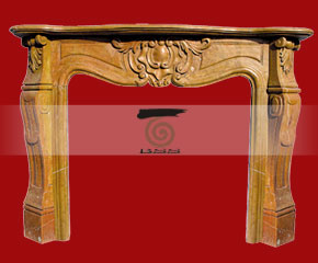 marble fireplace O-FP025 (WFP021)